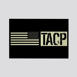 U.S. Air Force: TACP (Black Flag) Rectangle Magnet