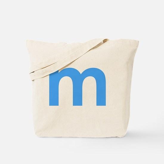 Unique Letter m Tote Bag
