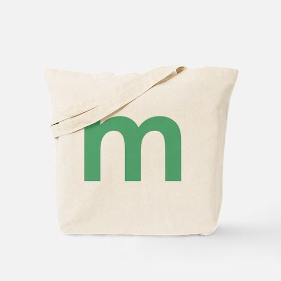 Cute Letter m Tote Bag