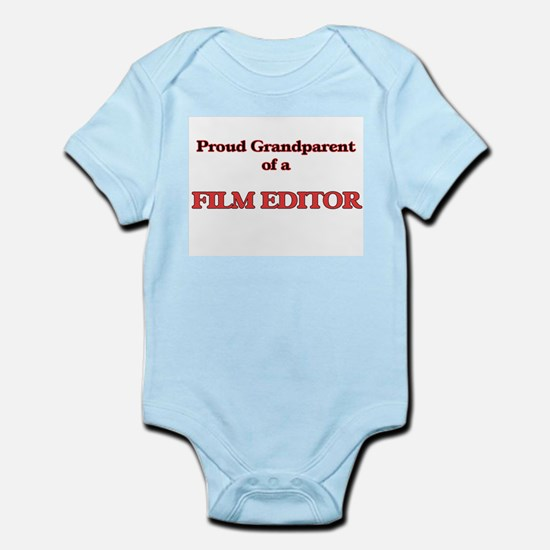 Proud Grandparent of a Film Editor Body Suit