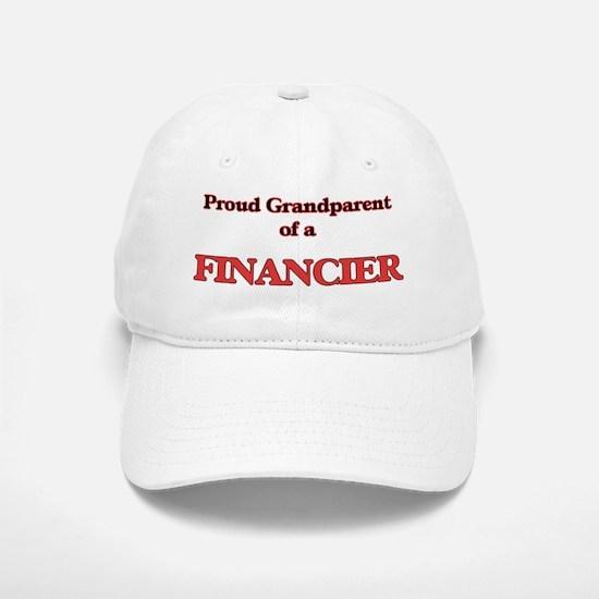 Proud Grandparent of a Financier Baseball Baseball Cap