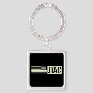 U.S. Air Force: JTAC (Black Flag) Square Keychain