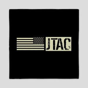 U.S. Air Force: JTAC (Black Flag) Queen Duvet
