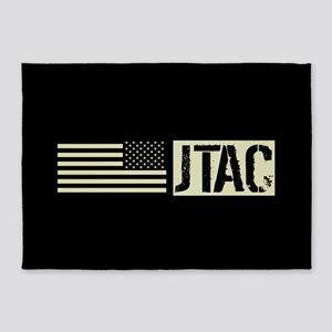 U.S. Air Force: JTAC (Black Flag) 5'x7'Area Rug