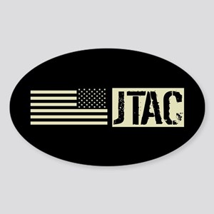U.S. Air Force: JTAC (Black Flag) Sticker (Oval)