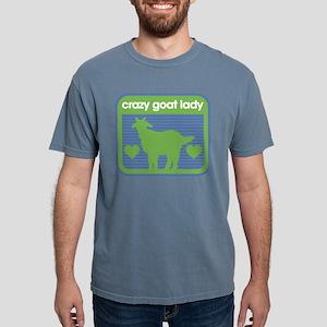 Crazy Goat Lady Mens Comfort Colors Shirt