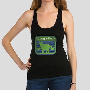 Crazy Goat Lady Racerback Tank Top