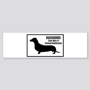Dachshunds Bumper Sticker