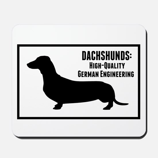 Dachshunds Mousepad