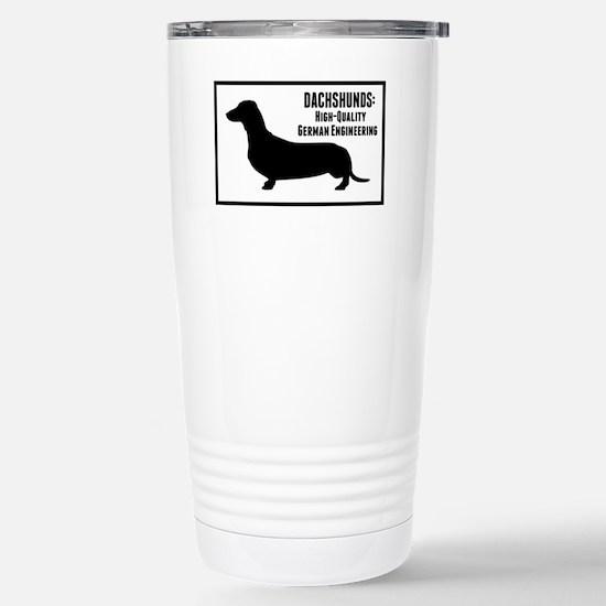 Dachshunds Stainless Steel Travel Mug