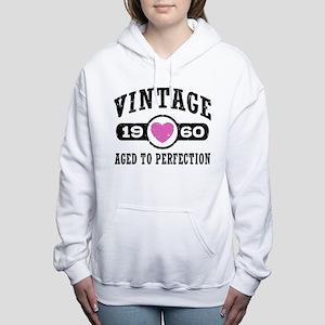 Vintage 1960 Women's Hooded Sweatshirt