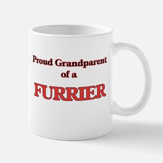 Proud Grandparent of a Furrier Mugs
