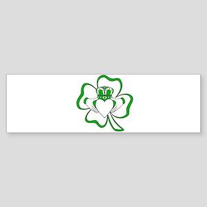Claddagh-01 Bumper Sticker