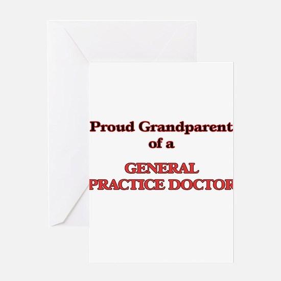 Proud Grandparent of a General Prac Greeting Cards