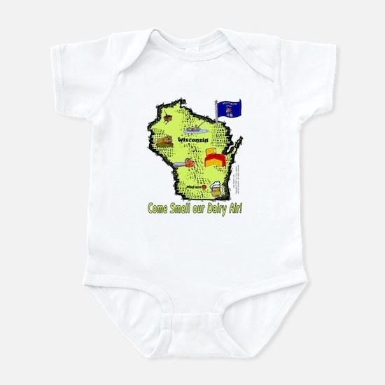WI-Dairy Air! Infant Bodysuit