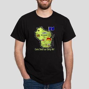 WI-Dairy Air! Dark T-Shirt