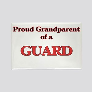 Proud Grandparent of a Guard Magnets