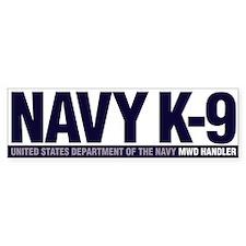 USN K-9 Bumper Sticker