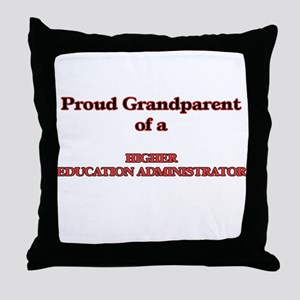 Proud Grandparent of a Higher Educati Throw Pillow