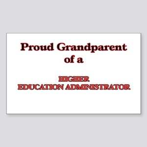 Proud Grandparent of a Higher Education Ad Sticker