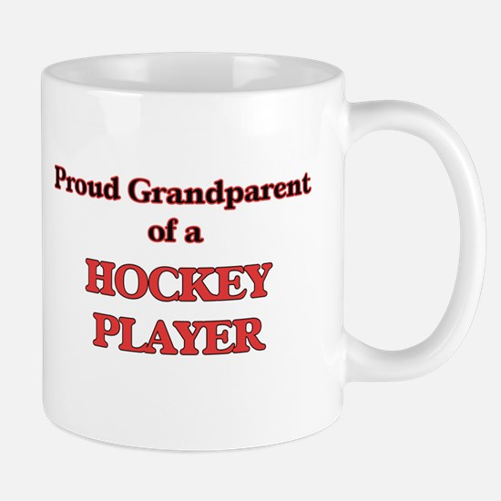 Proud Grandparent of a Hockey Player Mugs