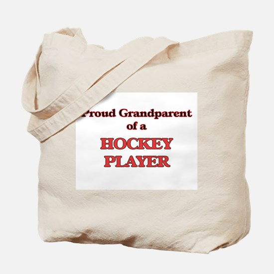 Proud Grandparent of a Hockey Player Tote Bag