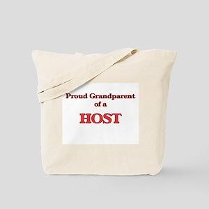 Proud Grandparent of a Host Tote Bag