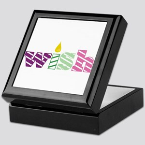 Candle Wish Keepsake Box