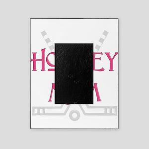 HockeyMomSticksPink.png Picture Frame