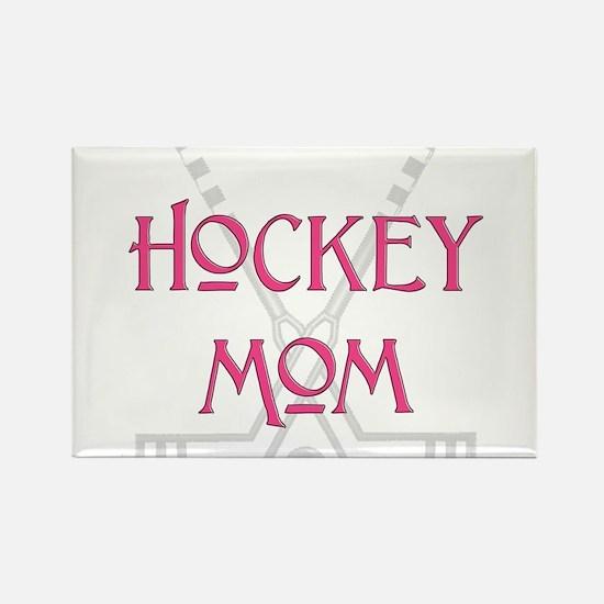 HockeyMomSticksPink.png Magnets