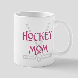 HockeyMomSticksPink Mugs
