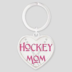 HockeyMomSticksPink Keychains