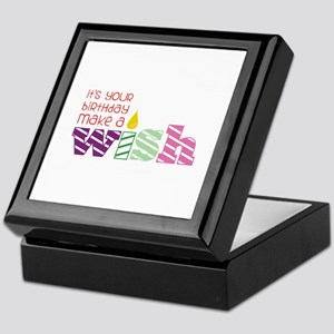 Birthday Wish Keepsake Box