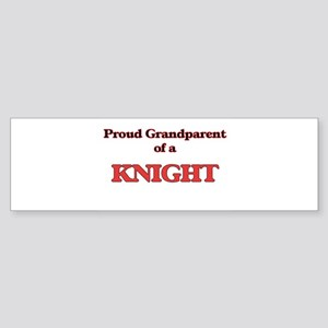 Proud Grandparent of a Knight Bumper Sticker