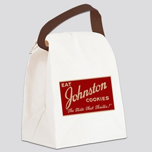 Milwaukee Johnston Cookies sign Canvas Lunch Bag