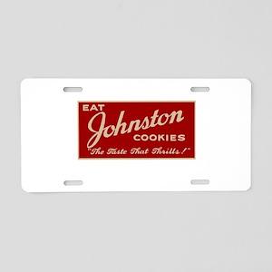 Milwaukee Johnston Cookies Aluminum License Plate