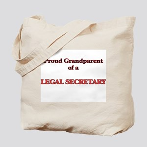 Proud Grandparent of a Legal Secretary Tote Bag