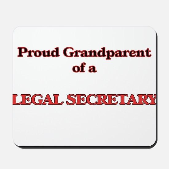 Proud Grandparent of a Legal Secretary Mousepad