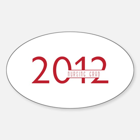 Nursing Grad 2012 Decal