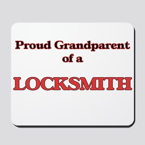 Proud Grandparent of a Locksmith Mousepad