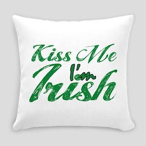 Kiss me I'm Irish Everyday Pillow