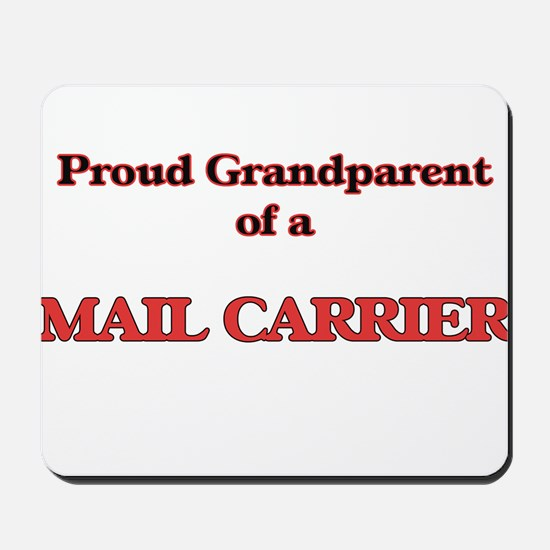 Proud Grandparent of a Mail Carrier Mousepad