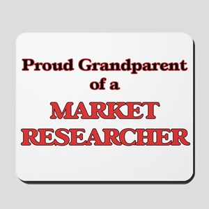Proud Grandparent of a Market Researcher Mousepad