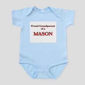 Proud Grandparent of a Mason Body Suit