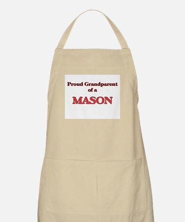 Proud Grandparent of a Mason Apron