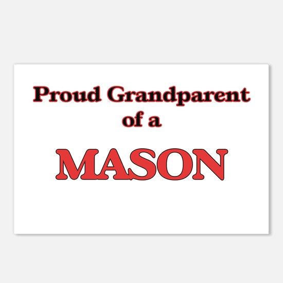 Proud Grandparent of a Ma Postcards (Package of 8)