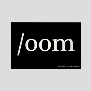 /oom Rectangle Magnet