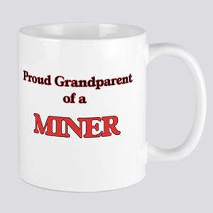Proud Grandparent of a Miner Mugs