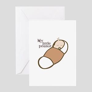 My Little Peanut Greeting Cards