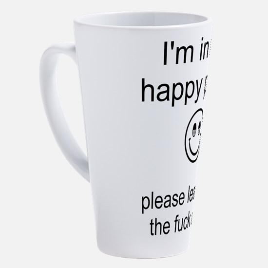 Cute Adult humor 17 oz Latte Mug